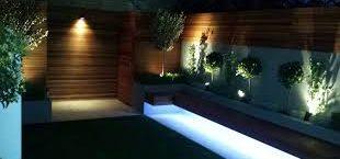 نور پردازی مدرن در ویلا